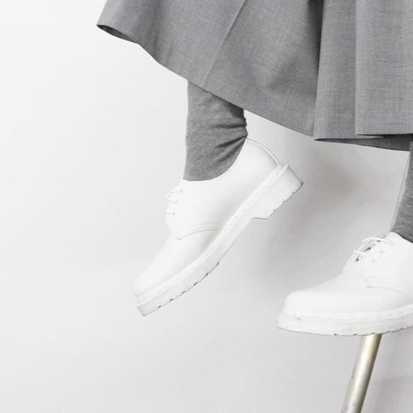 Dr Martens Mono 461 White Smooth | Poshmark